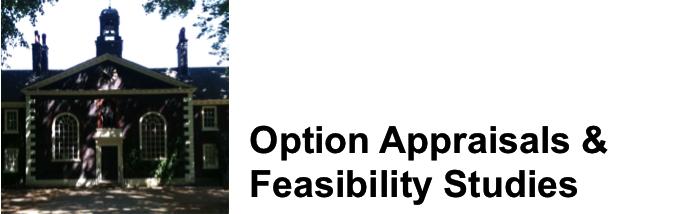 Option Appraisals & Feasibility Studies