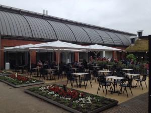 Horniman Cafe terrace